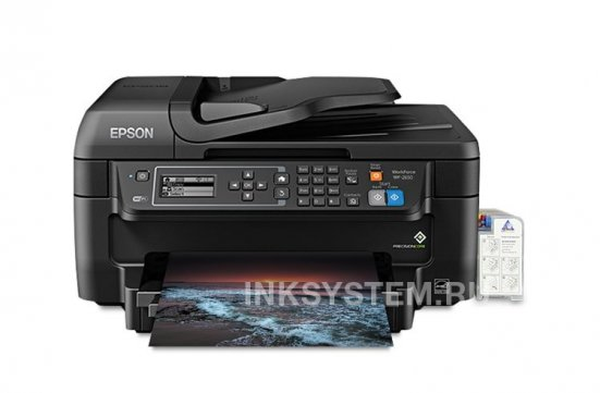 изображениеМФУ Epson Workforce WF-2650 Refurbished by Epson с СНПЧ и чернилами