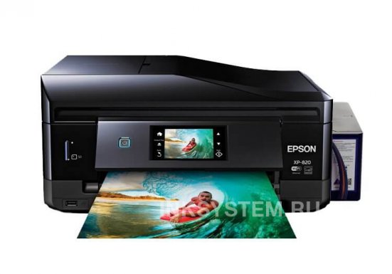 фото МФУ Epson Expression Premium XP-820 Refurbished by Epson с СНПЧ