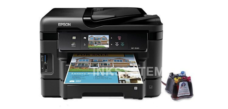 МФУ Epson Workforce WF-3540 с СНПЧ (США)