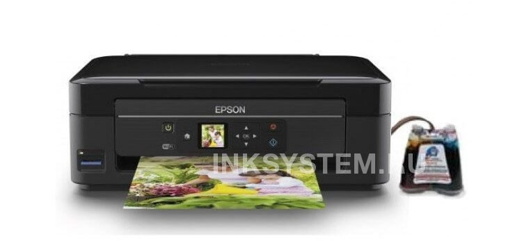 фото МФУ Epson Expression Home XP-313 с СНПЧ