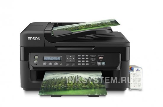 изображениеМФУ Epson Workforce WF-2530WF Refurbished by Epson с СНПЧ и чернилами