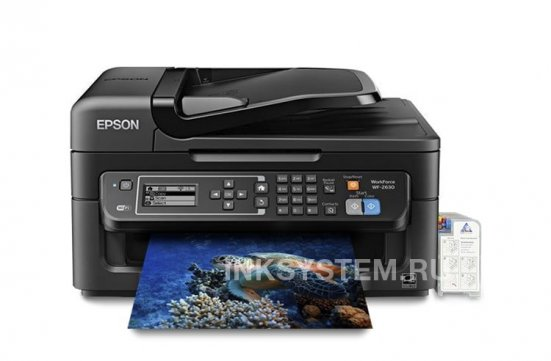 фото МФУ Epson Workforce WF-2630 с СНПЧ
