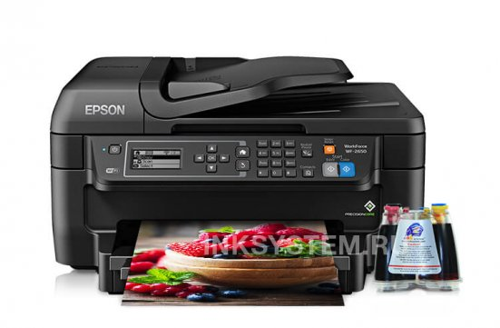 фото МФУ Epson Workforce WF-2650 с СНПЧ