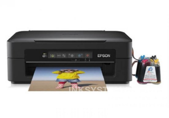 фото МФУ Epson Expression Home XP-225 с СНПЧ
