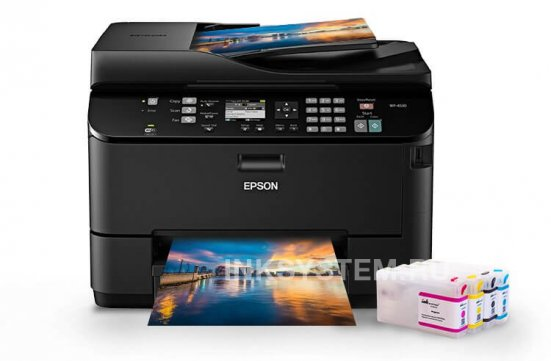 МФУ Epson WorkForce Pro WP-4530 Refurbished с ПЗК